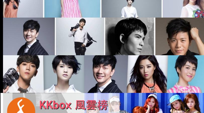 【KKbox 小編後台記事】KKbox 風雲榜  Bii、SpeXial、蕭敬騰、Apink要來啦!