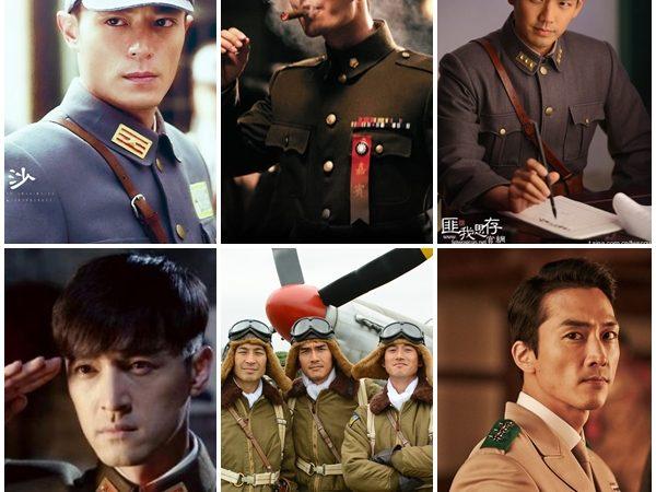 就愛你霸道保護!亞洲軍裝男神集合啦!你最愛哪一位?