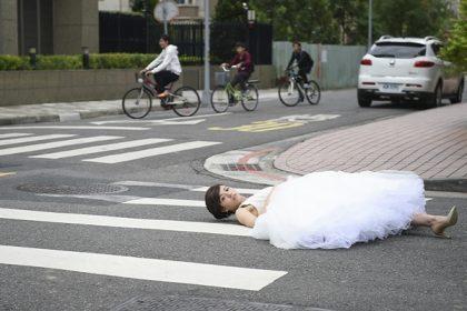宋芸樺首披婚紗 卻成落跑新娘