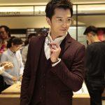 日本眼鏡JINS台中慶開幕,亞洲男神邱澤親自服務
