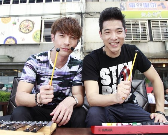 KKBOX當紅娘 王大文與陳勢安一拍即合成好友
