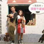 「愛心大使」徐佳瑩、黃鴻升台北力挺 呼籲領養代替購買  攜毛小孩歡樂玩遊戲