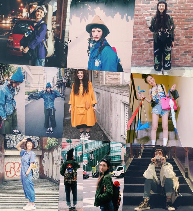 魏如昀潮青私服Style。圖 / 摘自魏如昀臉書