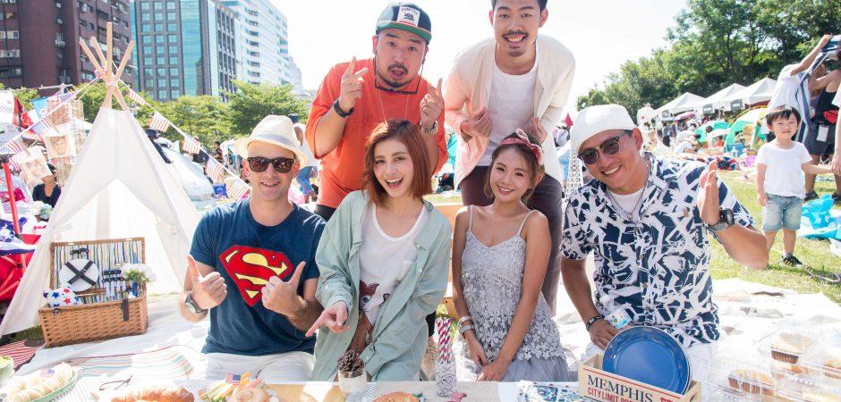 愛玩客世界野餐日 粉絲搶吃詹姆士特製豪華爆肉大漢堡!