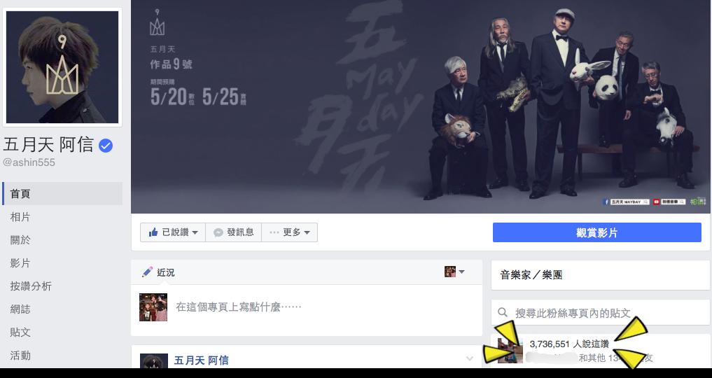 圖/摘自阿信臉書
