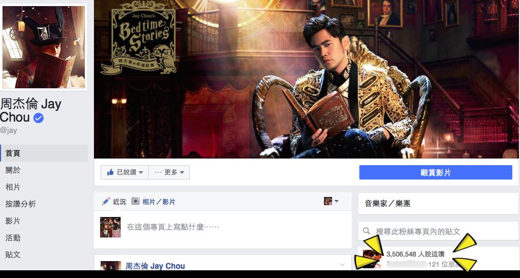 圖/摘自周杰倫臉書JayChou