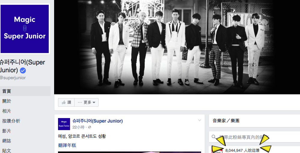 圖/摘自Super Junior臉書