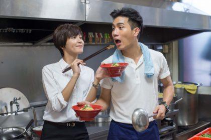 陳彥允、曾沛慈廚房談情「太火熱」好上癮!相揪開泡麵攤煮麵給粉絲吃!