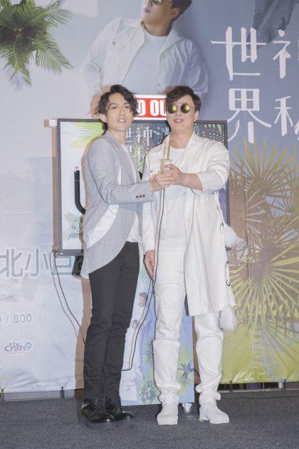 蕭煌奇巡迴演唱會8/13開賣  林宥嘉站台默契來電被喊伯樂好害羞!