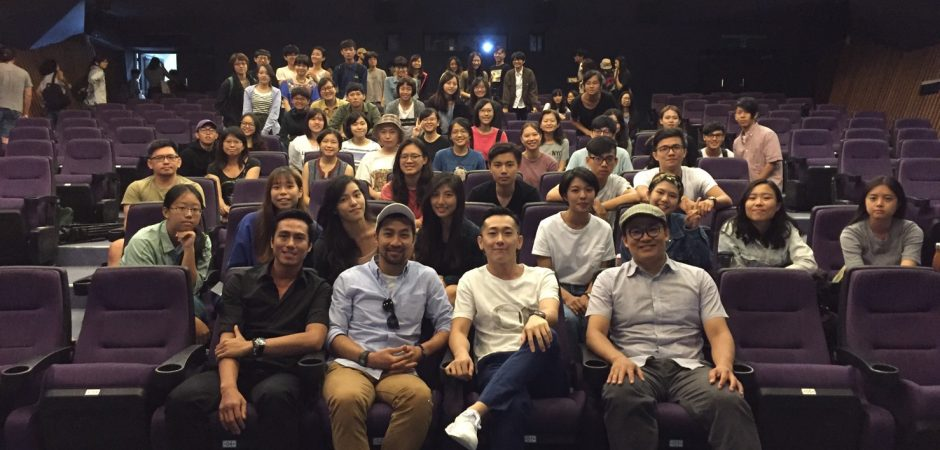學長們回北藝大母校!製作人曾瀚賢、黃健瑋、莊凱勛與施名帥聊過去、聊《麻醉風暴2》更踴躍分享業界實戰經驗!